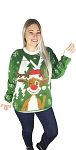 Ugly Christmas Sweater: Hello Deer