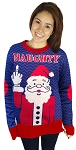 Ugly Christmas Sweater: Naughty Santa
