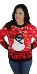 Ugly Christmas Sweater: Ninja Snowman