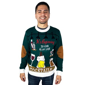 Beverage Huggie, Ugly Christmas Sweater: Looks Like Cocktails